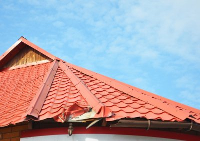 torn - roofing